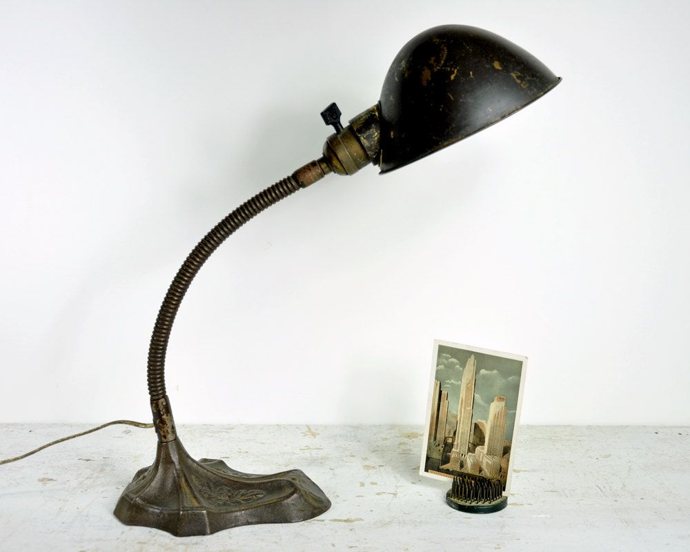 Retro Desk Lamps on Vintage Desk Lamp Industrial Light Gooseneck Lamp - Retro Desk Lamps On Vintage Desk Lamp Industrial Light Gooseneck