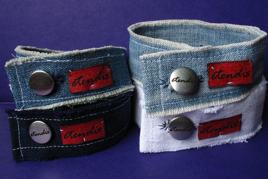 jeans upcycling armband n hen pinterest n hen jeans und schmuck. Black Bedroom Furniture Sets. Home Design Ideas
