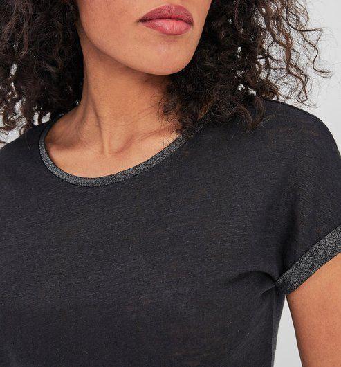 44160bdcaceabe Linen top - Black - Women - Tops - Promod | Every ss20 in 2019 ...