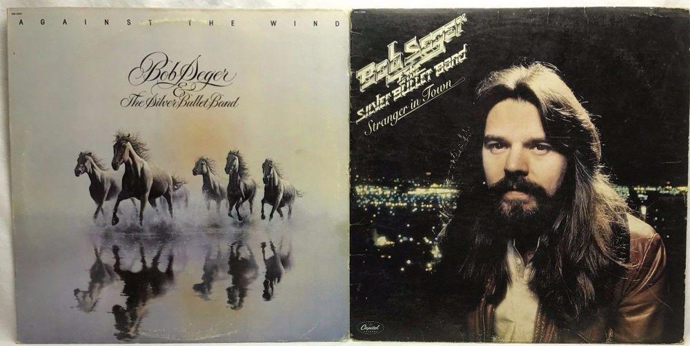 Bob Seger Stranger In Town Against The Wind Lp Vinyl Record Album Lot Of 2 Amazon Com Shops Capcollectibles Vinyl Records Vinyl Bob Seger