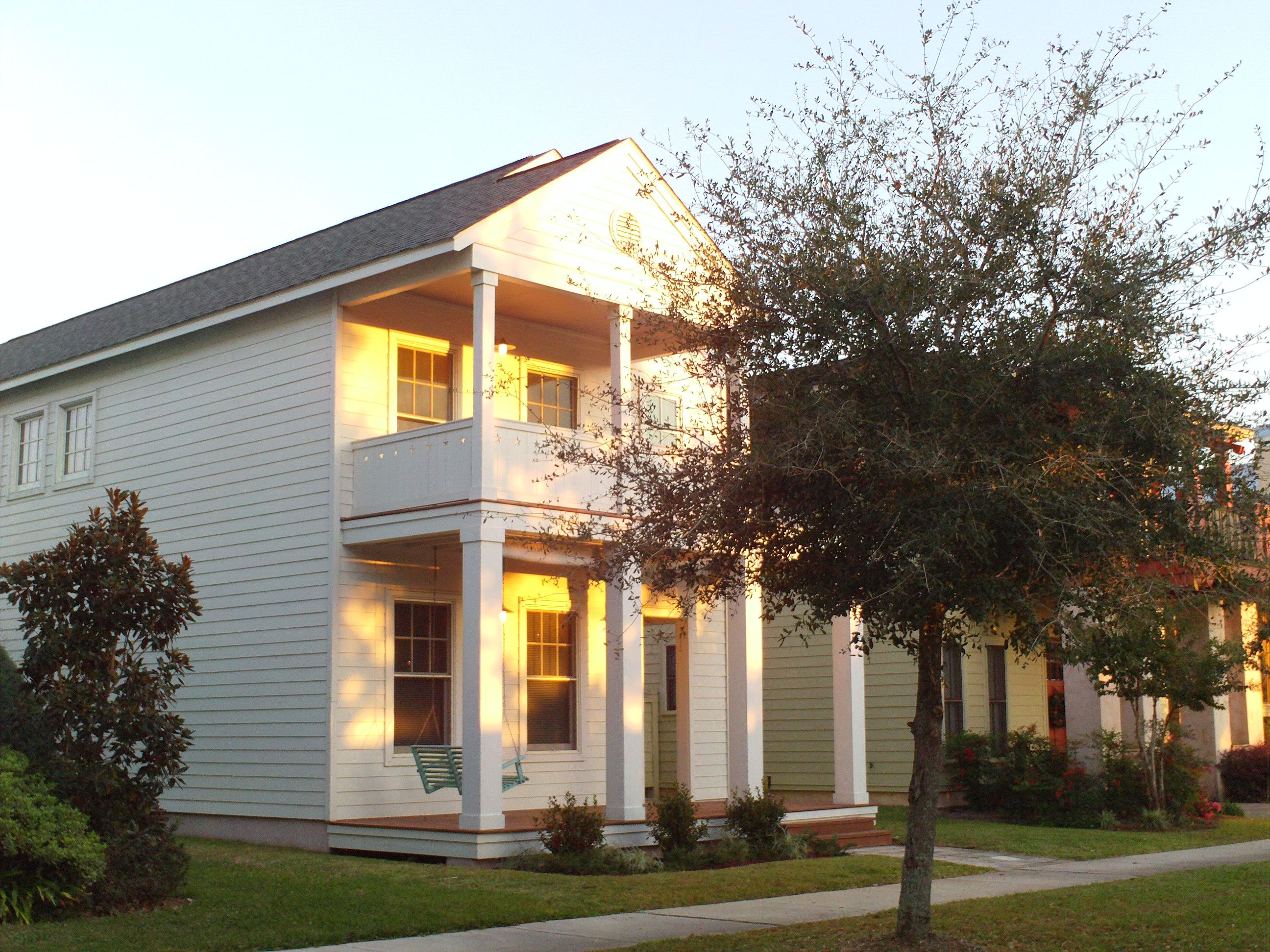 Aragon Community in Downtown Pensacola House styles