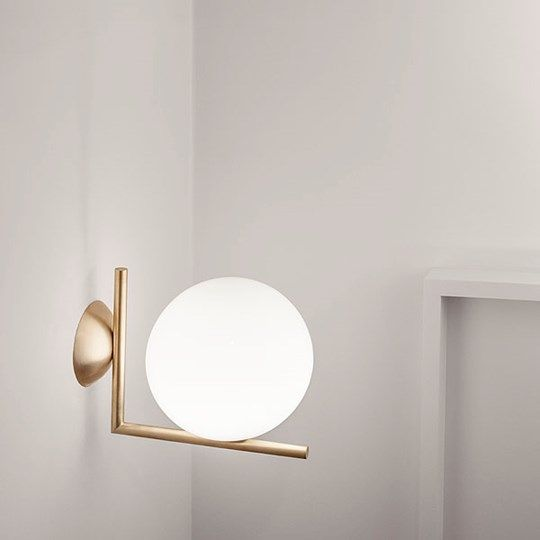 ic lights discover the flos wall and ceiling lamp model ic lights