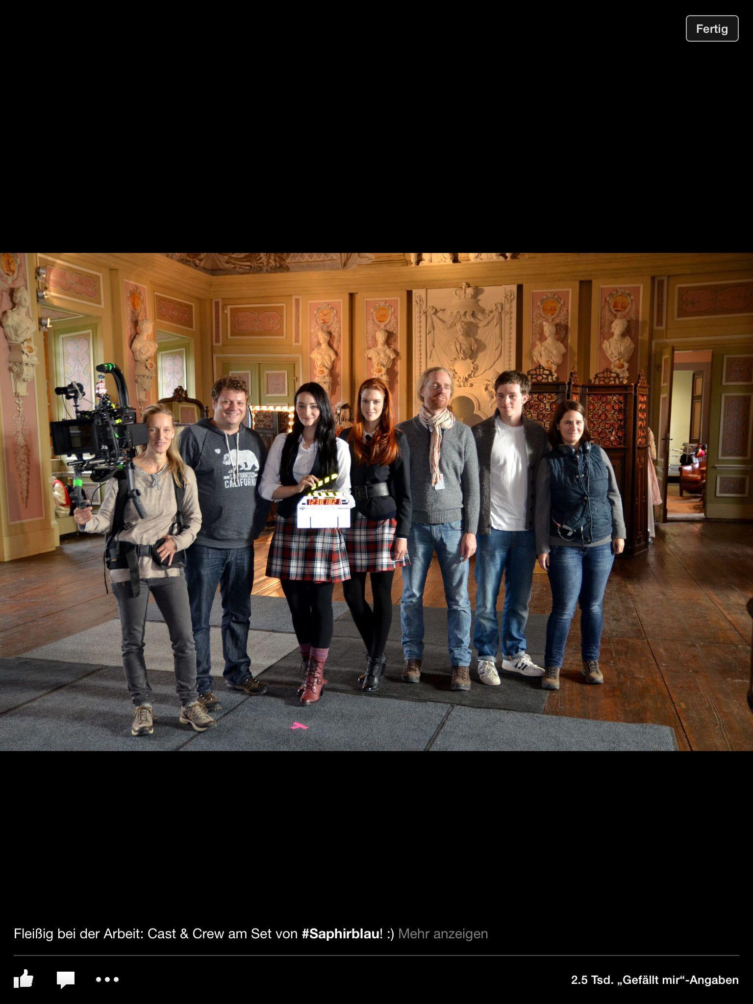 Cast Of Saphirblau Saphirblau Rubinrot Saphirblau Smaragdgrun Rubinrot