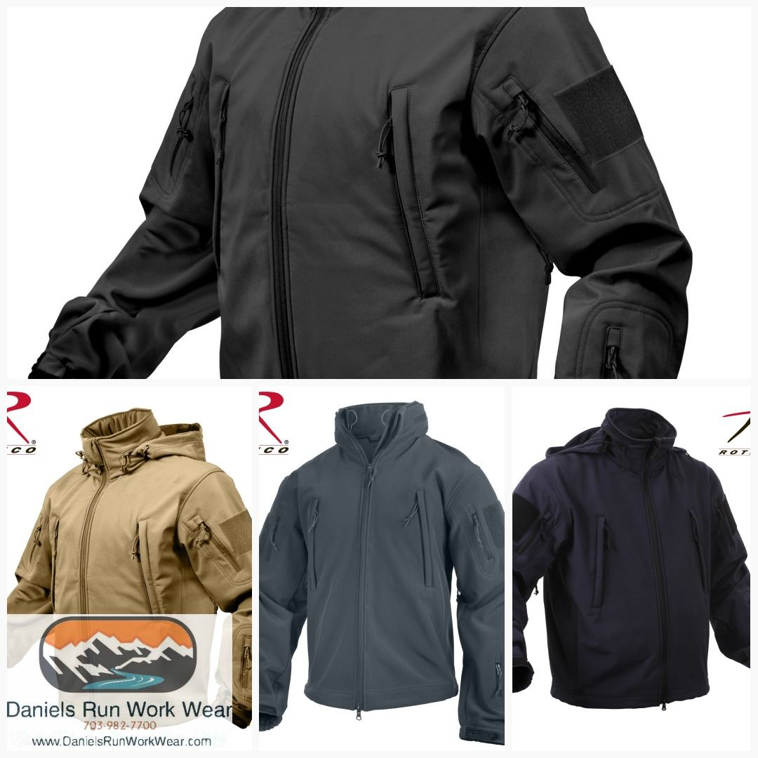 e48549871 Rothco Special Ops Tactical Soft Shell Coat or Jacket Item 9767 ...