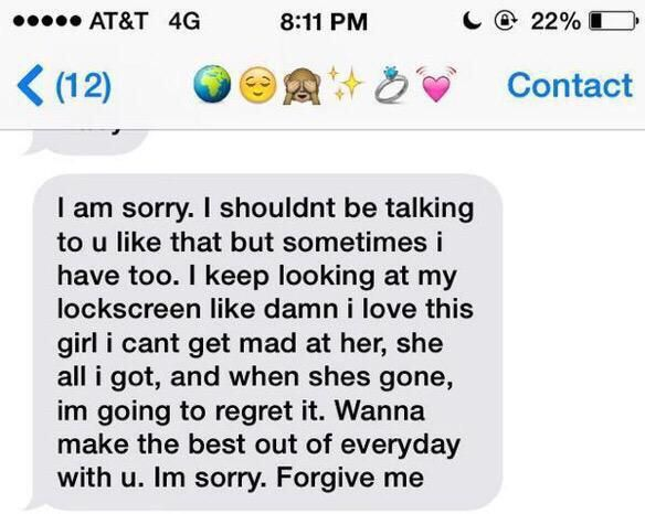 The best way to apologize to a girl