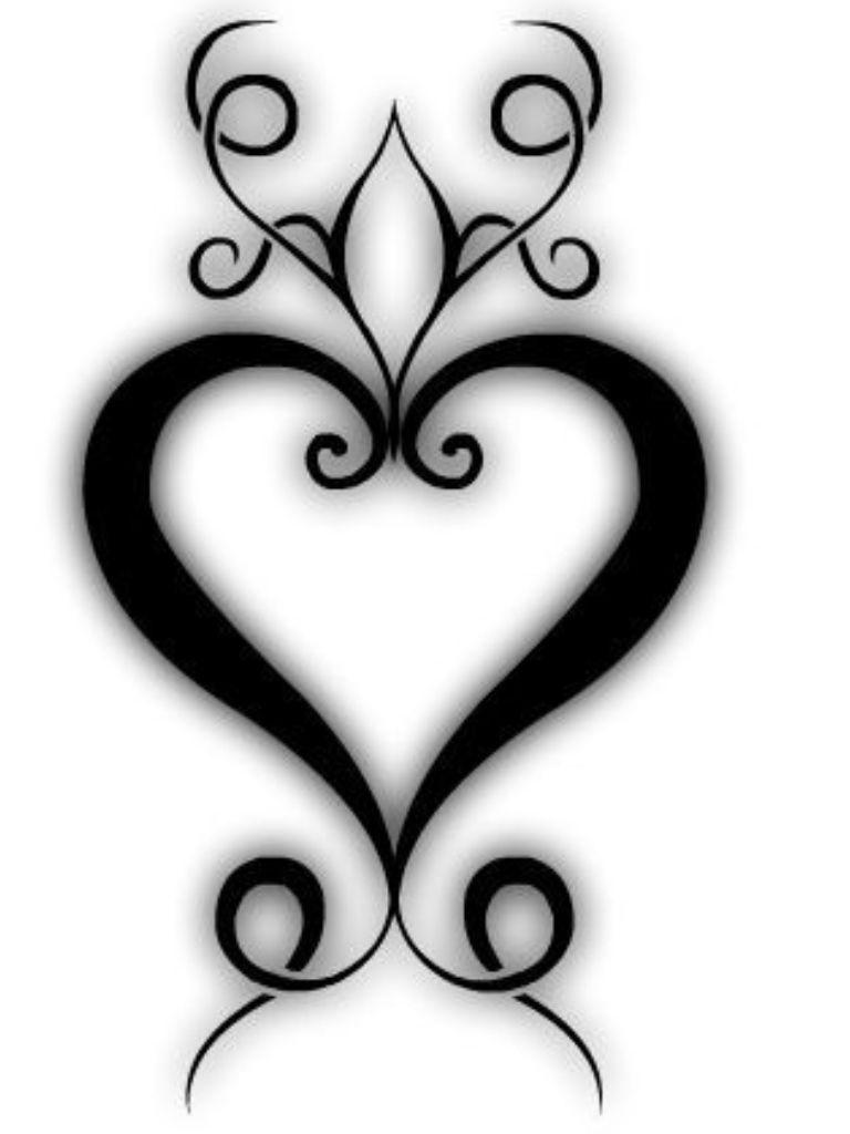 Love this tattoos pinterest tattoo tatting and tatoo tribal heart tattoo incorporate kiddies initials somehow biocorpaavc Images