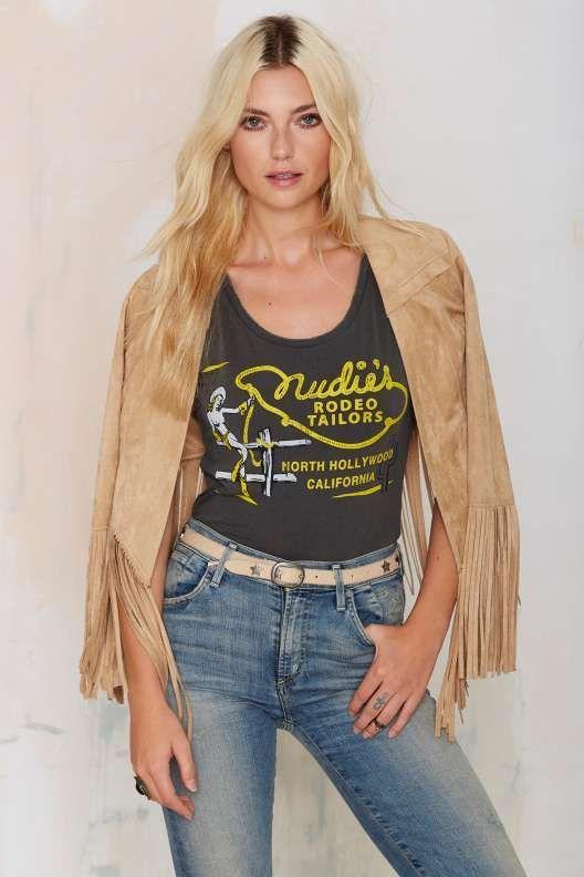 Midnight Rider Nudie's Rodeo Tailors Tee - Sale