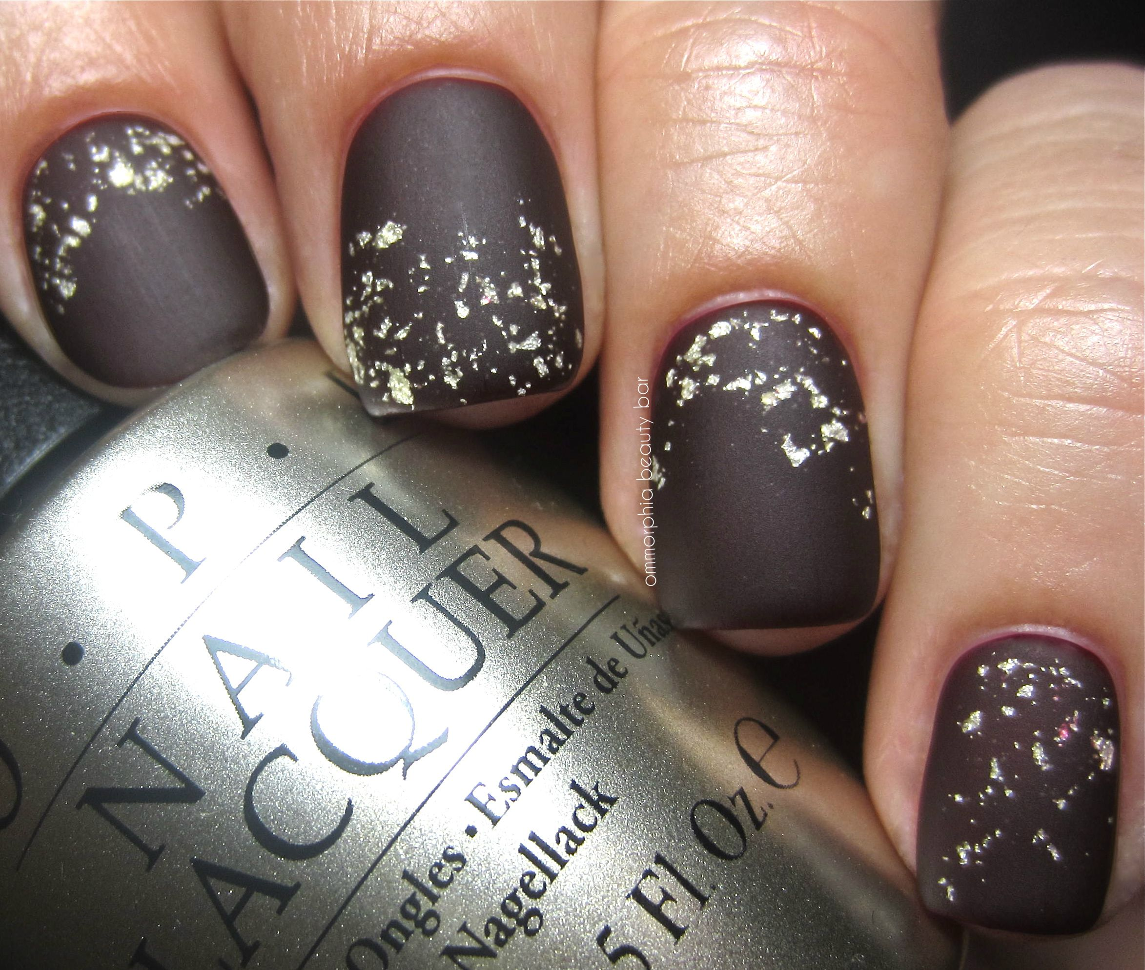 Ommorphia: OPI – Pure 18k Gold & Silver Top Coat (over Visions of ...
