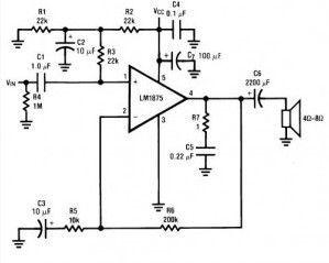 Audio Power amplifier (30W)