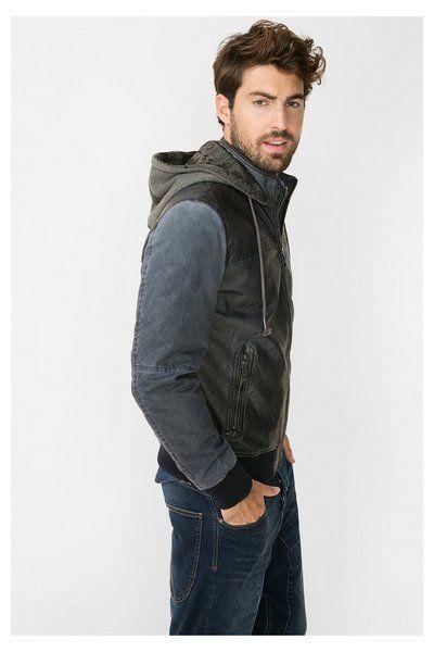 2a979d23ba6f Chaqueta negra para hombre | Glamorous Men Style Fashion | Jackets ...