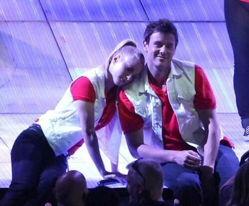 Heather Morris and Cory Monteith On Tour