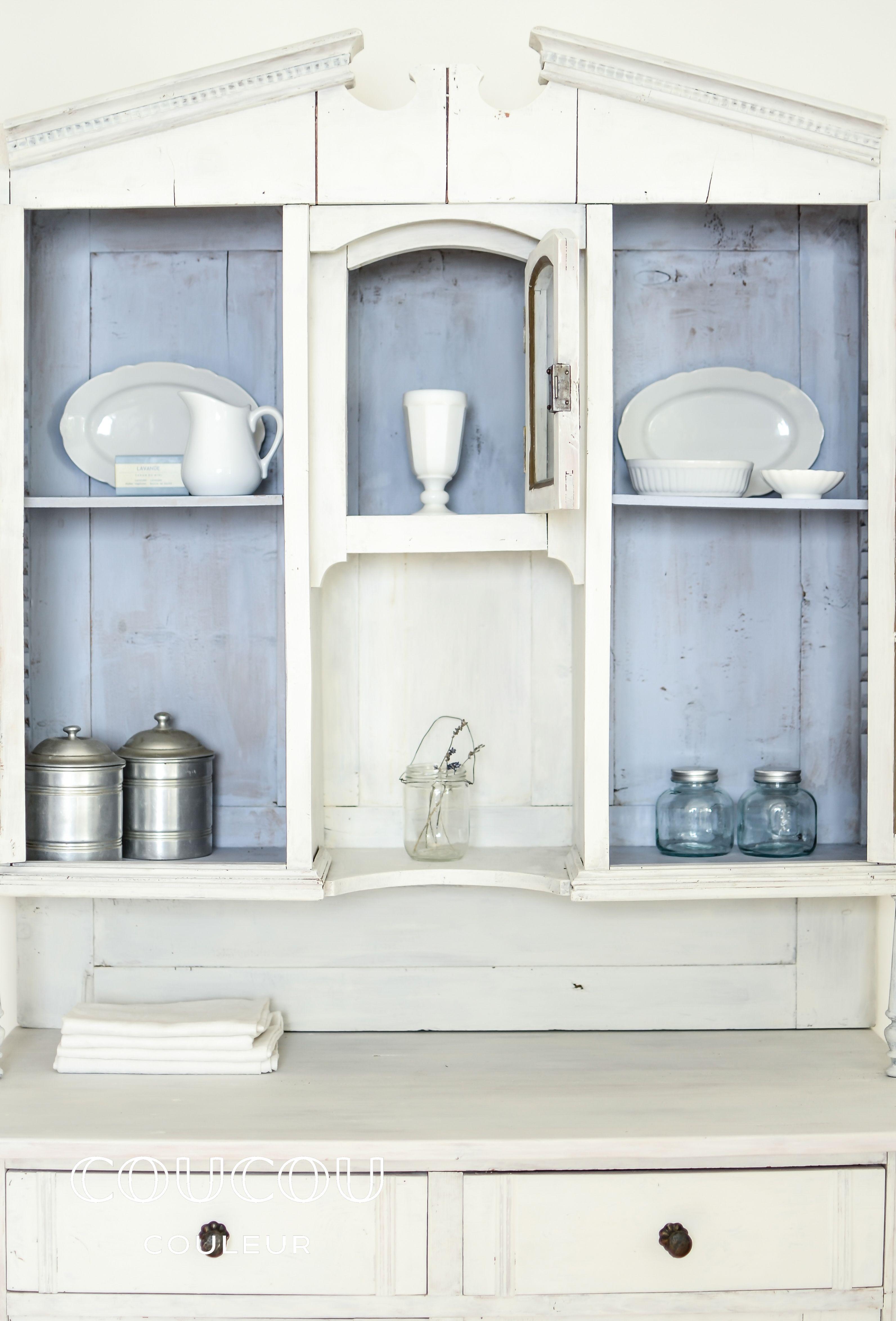 LAVANDE! Dieser Küchenschrank wurde mit der ökologischen Kreidefarbe ...