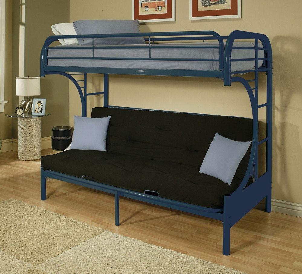 Metal Bunk Bed Futon Combo Interior Paint Color Schemes
