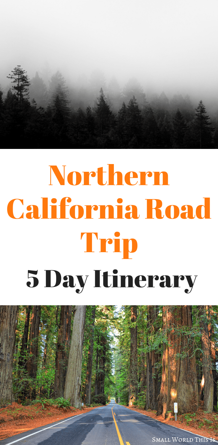 A 5-Day Northern California Road Trip Itinerary #westcoastroadtrip