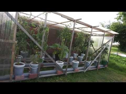 Hybrid Rain Gutter Grow System From Germany Awesome Setup Youtube Grow System Rain Gutters Edible Garden
