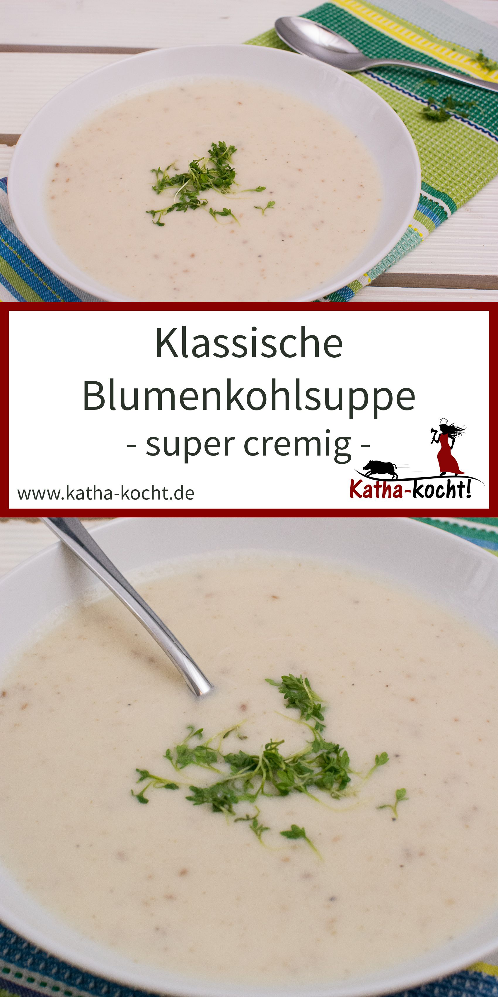 Photo of Klassische Blumenkohlsuppe