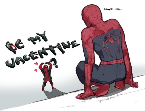 Quand Deadpool tente de draguer Spiderman ! | Spideypool, Thorki