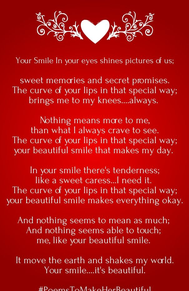 your amazing poems for him