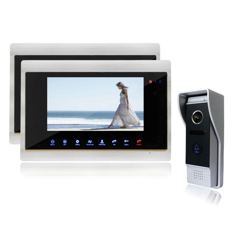 288 00 Buy Here Http Appdeal Ru D0s7 Ysecu Color 7 Tft Lcd Display 4 Line Video Door Phone Door Video Door Phone Intercom System Home Doorbell Intercom