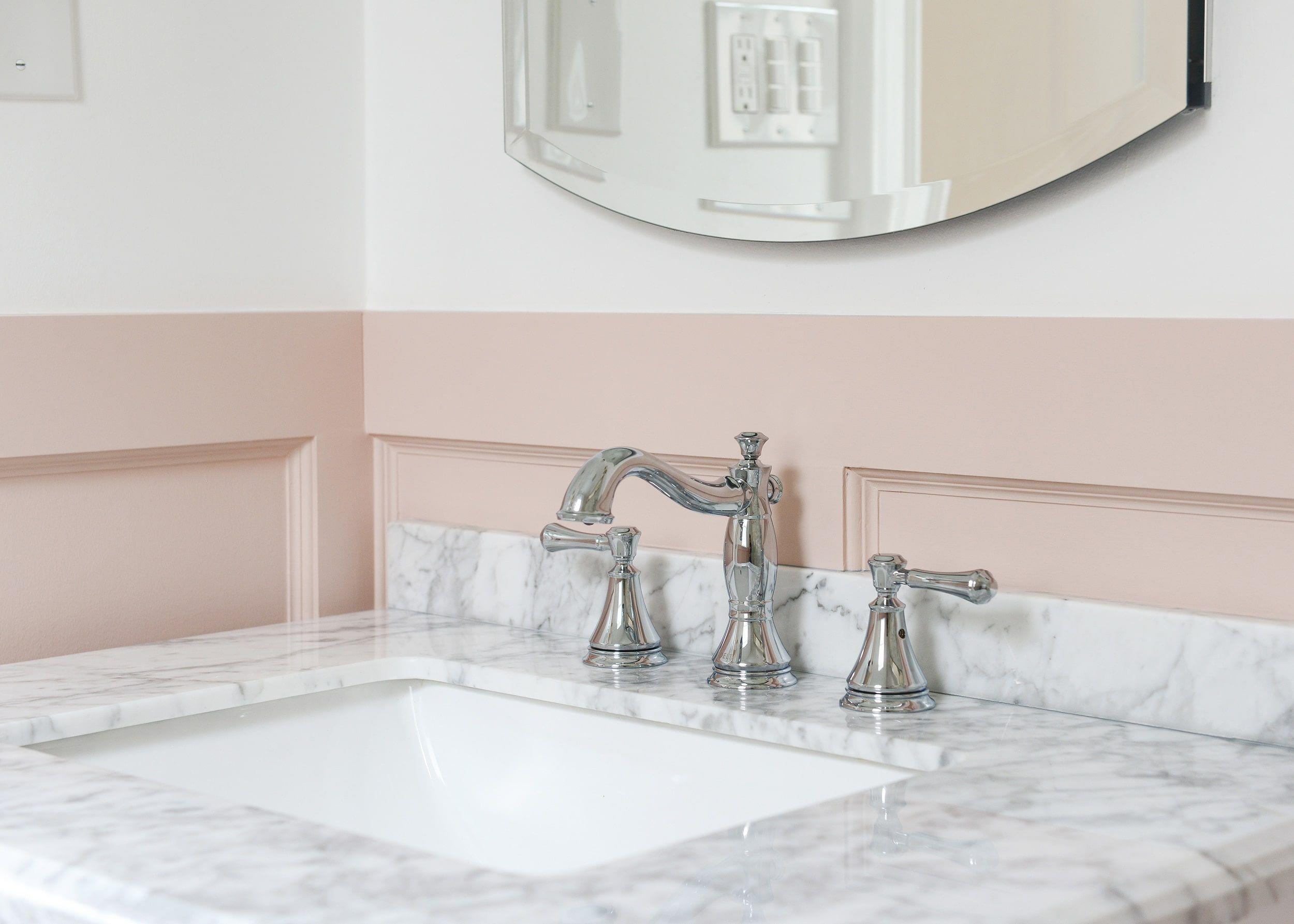 How To Install A New Bathroom Vanity Bathroom Vanity Bathroom Colors Bathroom