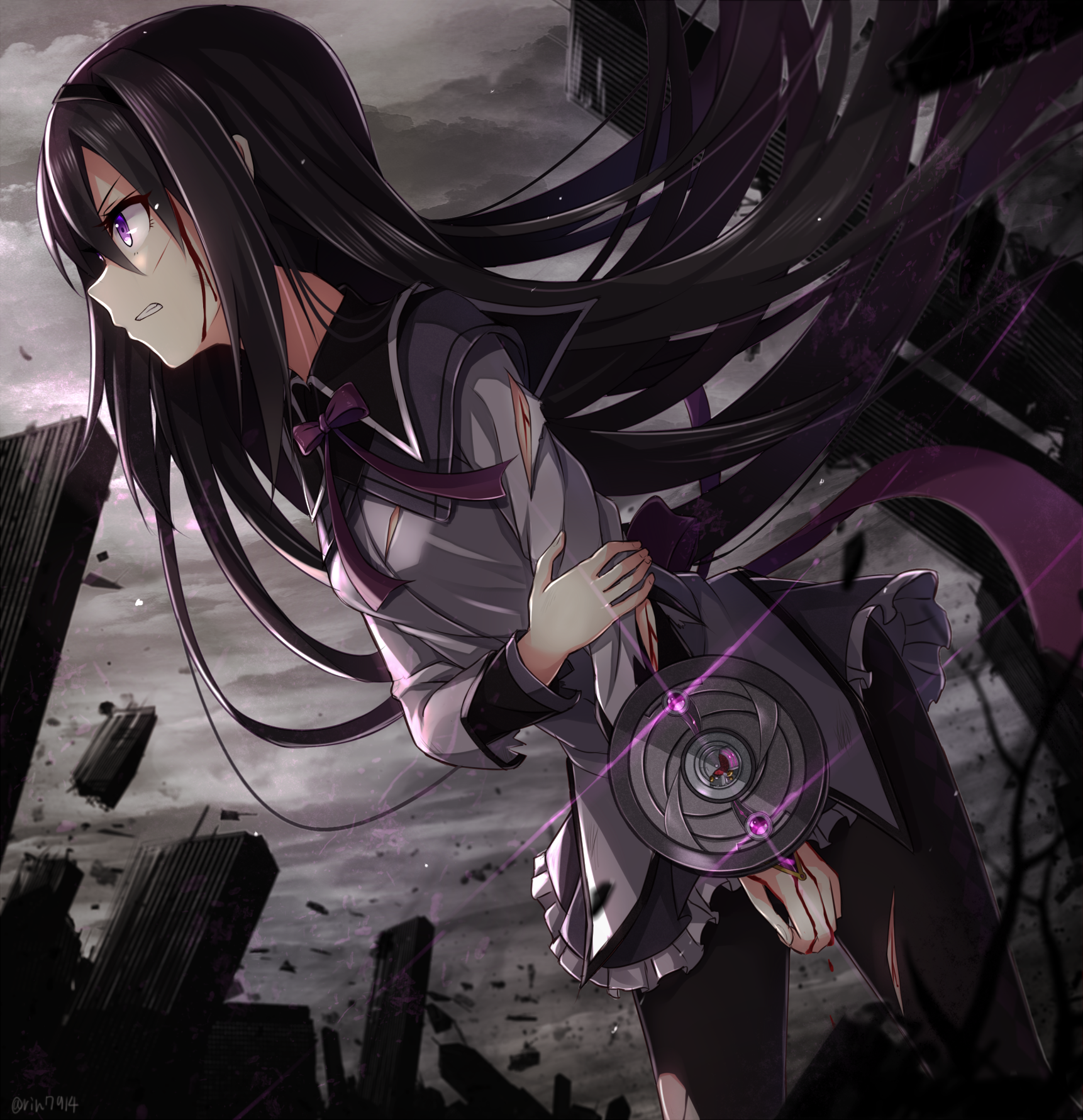 """Akemi Homura"" Animasi, Ide"