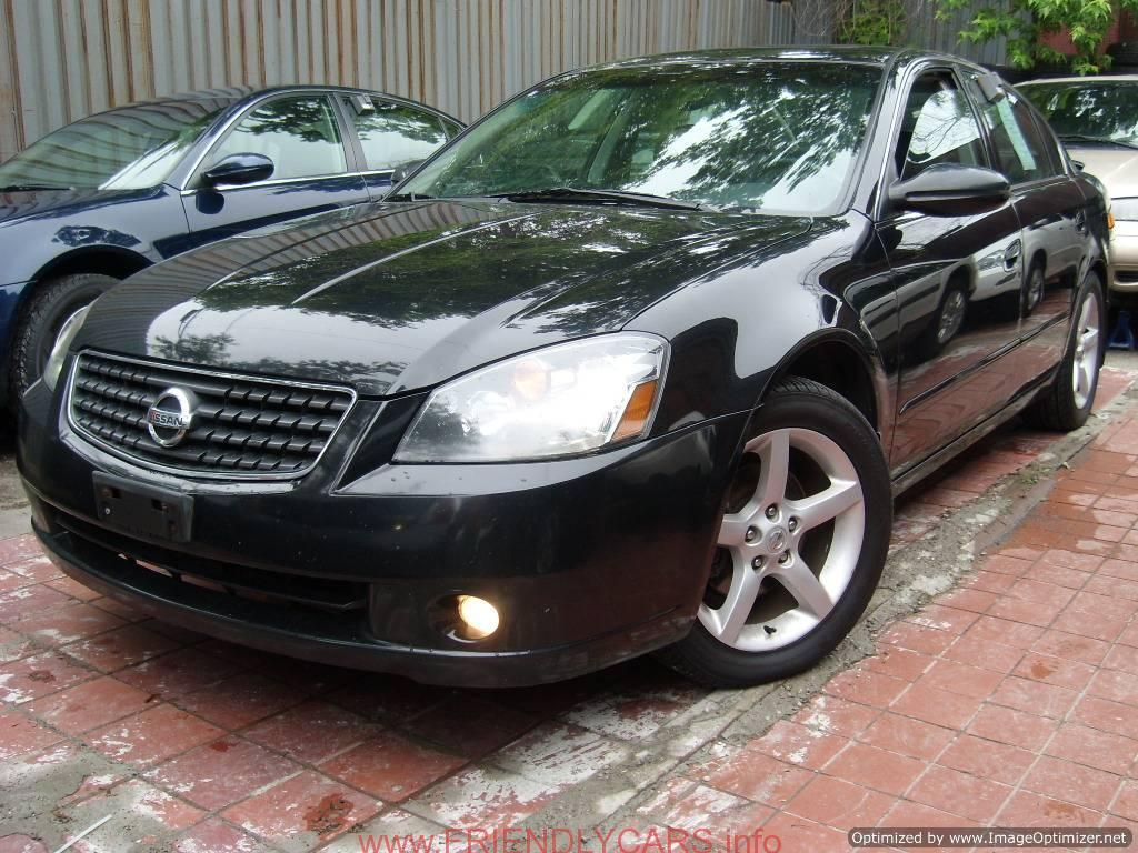 Nice Nissan Altima 2005 With Rims Car Images Hd Nissan Altima Black Interior Nissan Altima Dash