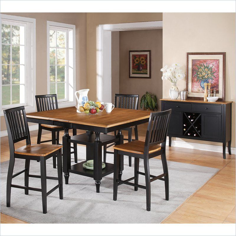 Steve Silver Company Candice 5 Piece Counter Height Dining Table Pleasing Steve Silver Dining Room Set Inspiration Design