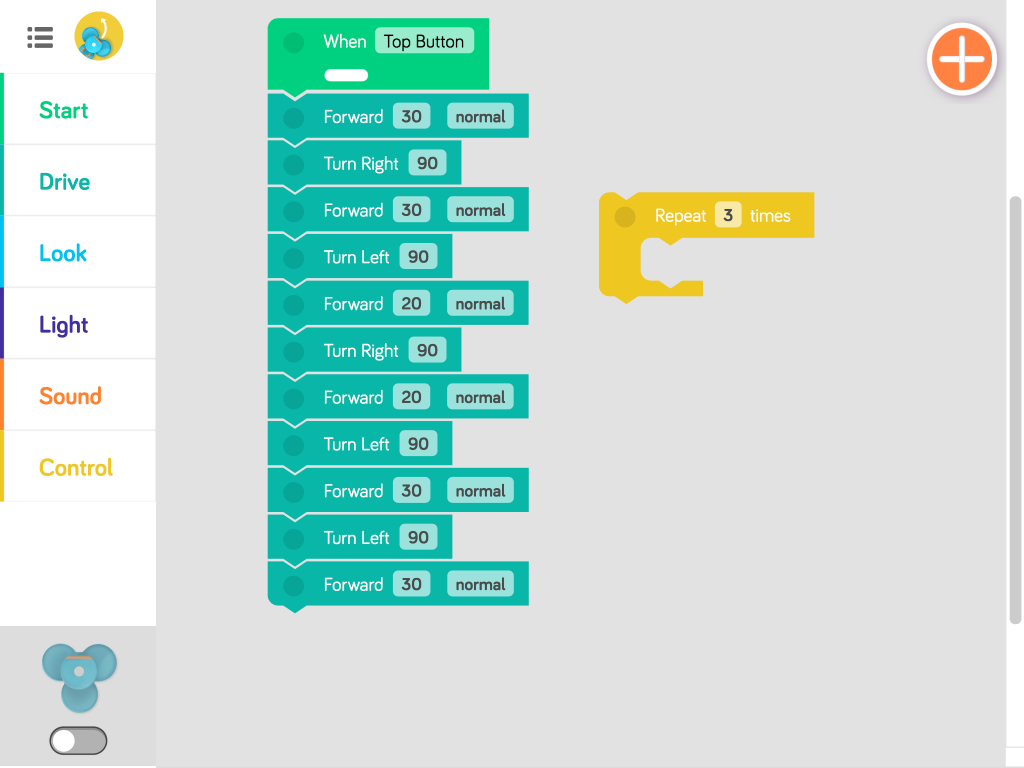 blockly code Dot & Dash Pinterest
