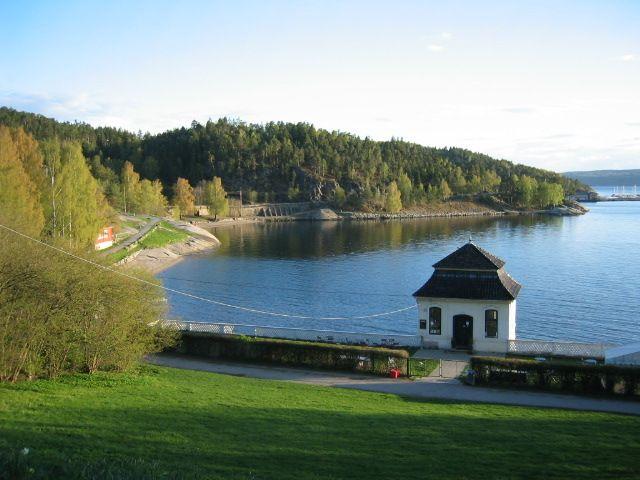 Beautiful Shot Of Hvervenbukta In Oslo Norway