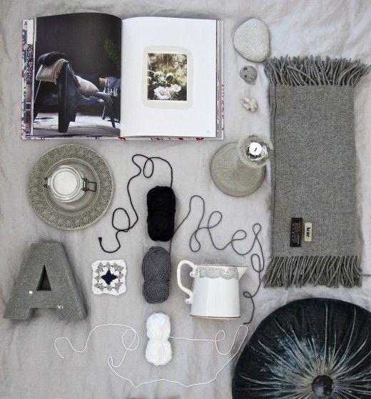 grey.  Styling: Johanna Laskey
