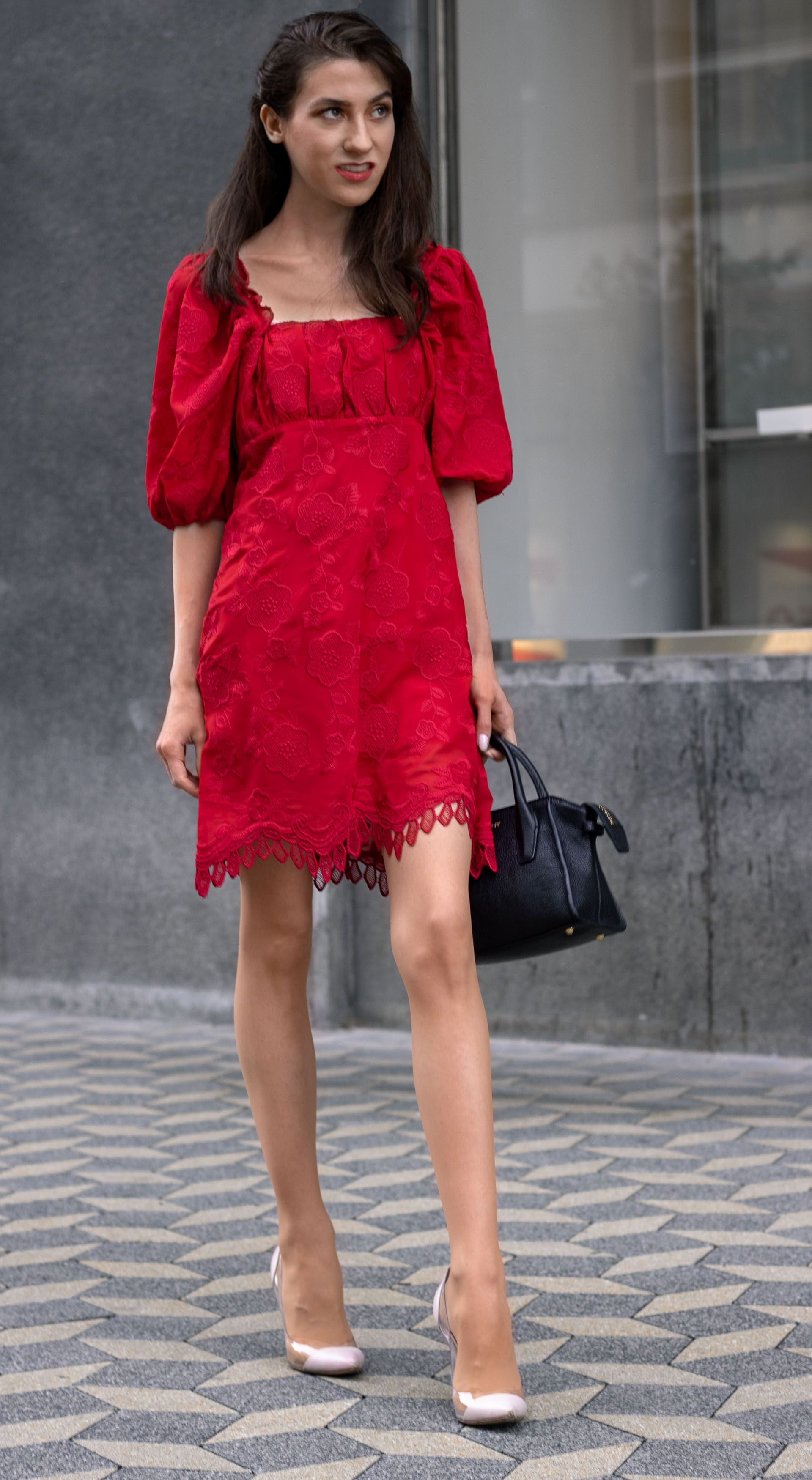 Dress To Wear For Annual Business Party In Fall Brunette From Wall Street Fashion Party Fashion London Fashion Bloggers [ 3500 x 1920 Pixel ]