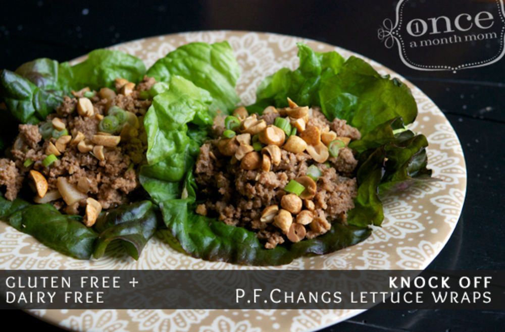 Gluten free dairy free knock off pf changs chicken lettuce