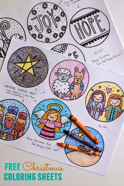 Free Christmas Coloring Sheets Christmas coloring sheets, Free and