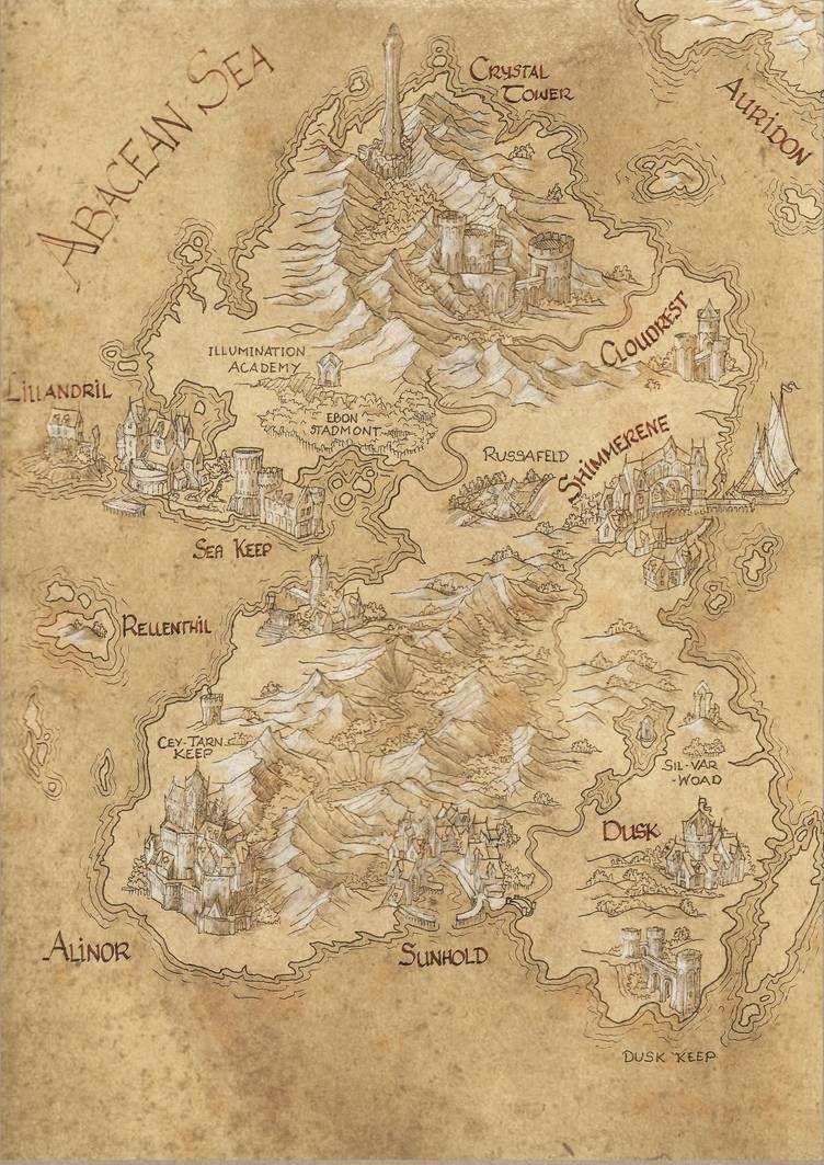 Summerset Treasure Map : summerset, treasure, Summerset, Amegusa, DeviantArt, Imaginary, Maps,, Fantasy, Making,