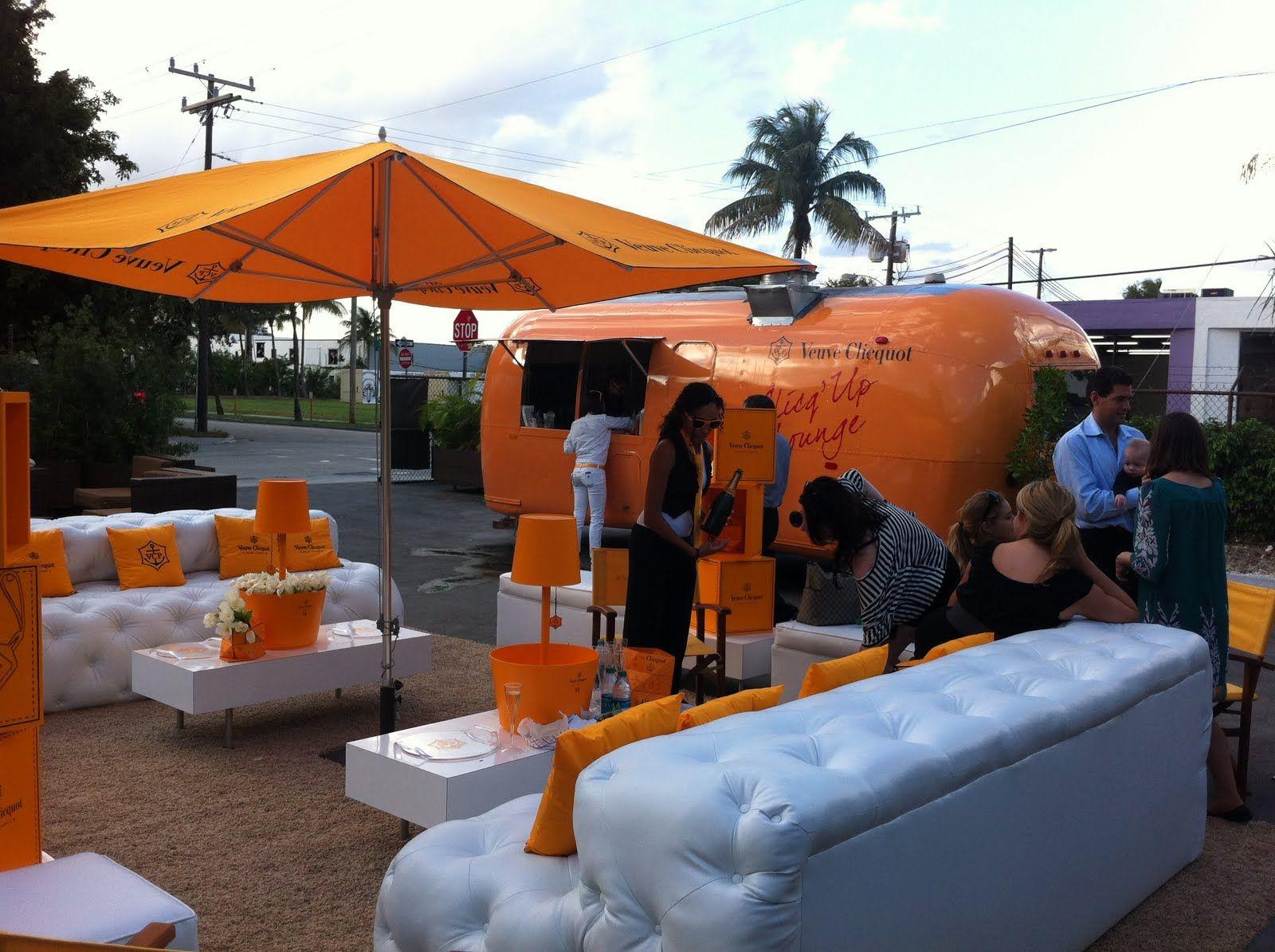 Airstream + Inflatable Lounge Furniture :: Veuve Clicquot ...