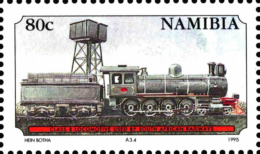 Stamp Class 8 Namibia Railways Mi Na 786 Sn Na 776 Yt Na 742 Stamp Postal Stamps Namibia