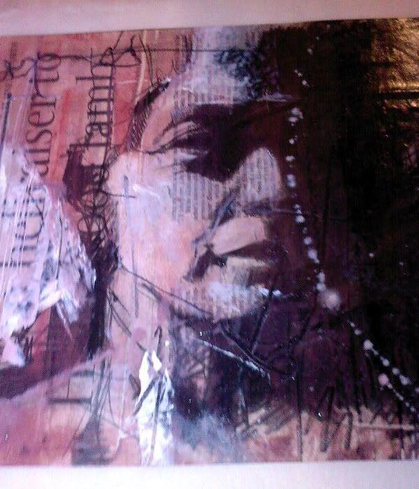 Guy Denning Original On Newsprint For Sale...   Guy Denning Forum - Guy Denning Art