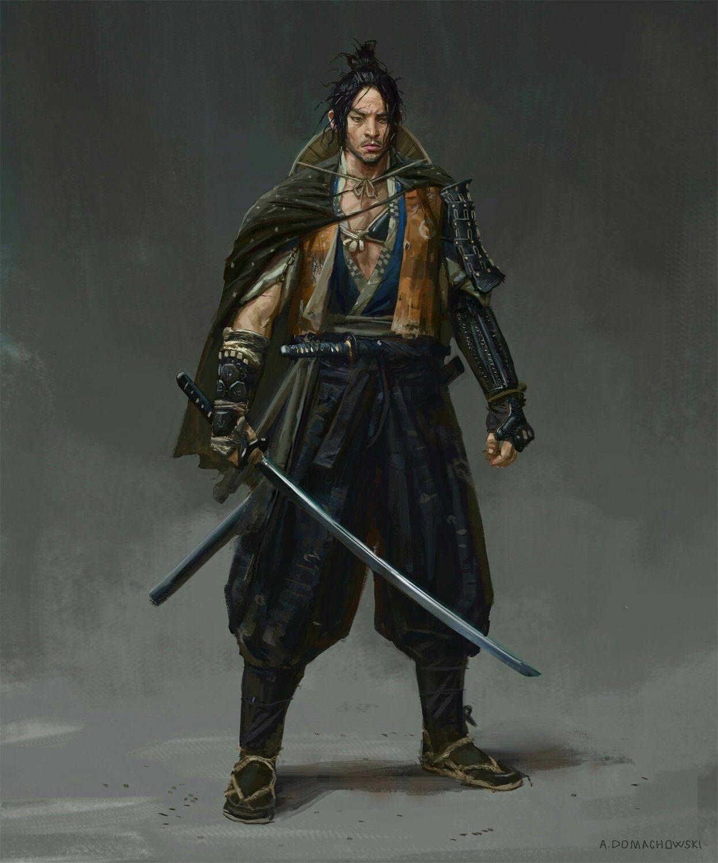 Orc-Samurai, worasak suwannarach | Orc warrior, Fantasy