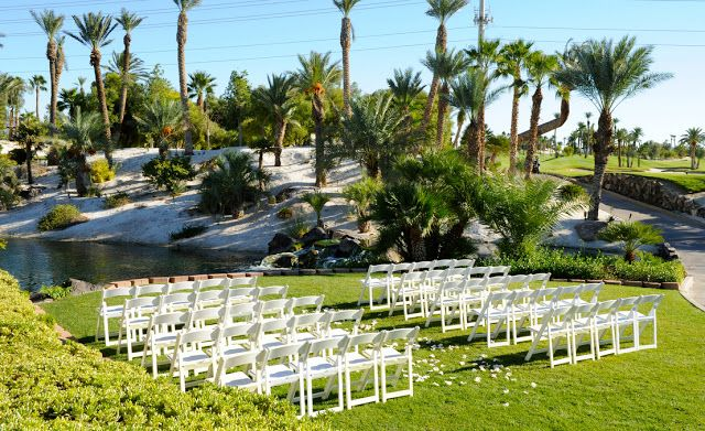 Golf Course Wedding Venues Las Vegas Bali Hai Club