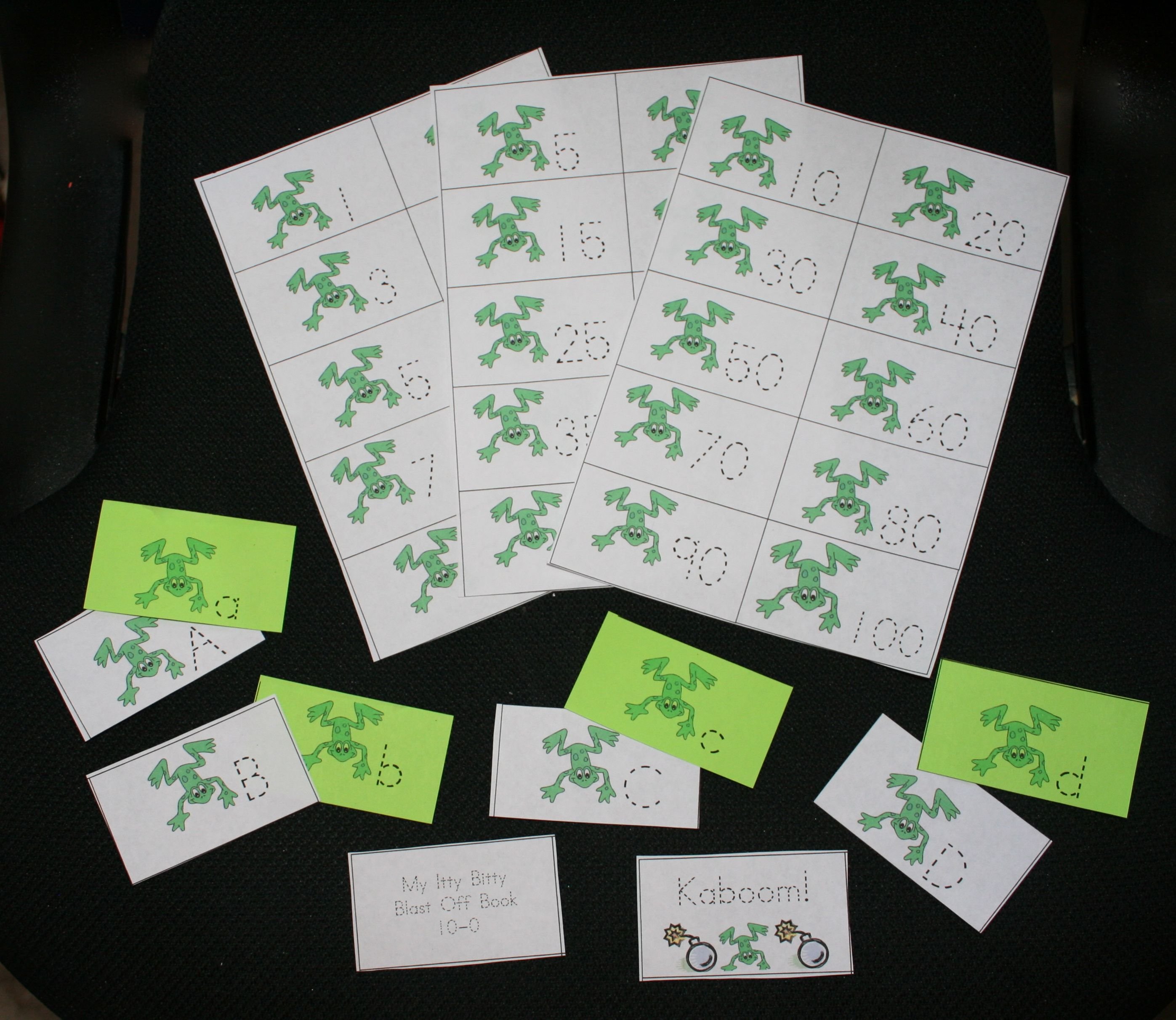 Frog Themed Cards Perfect For Fun Leap Day Games And