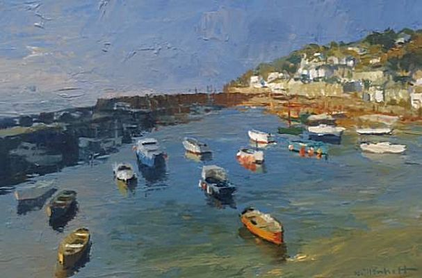 Cadgwith, the Lizard (oil on canvas) by Eric Hains from