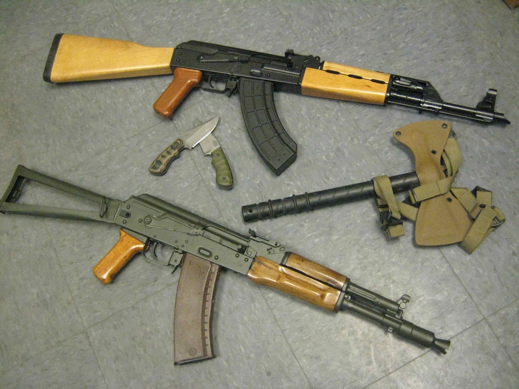 Rifle Dynamics: AK 105 & Yugo M-70 Machine guns | ღ