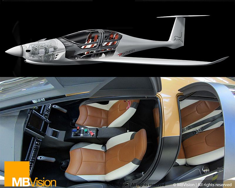 The cockpit of the pipistrel panthera things i love - Interior design license california ...