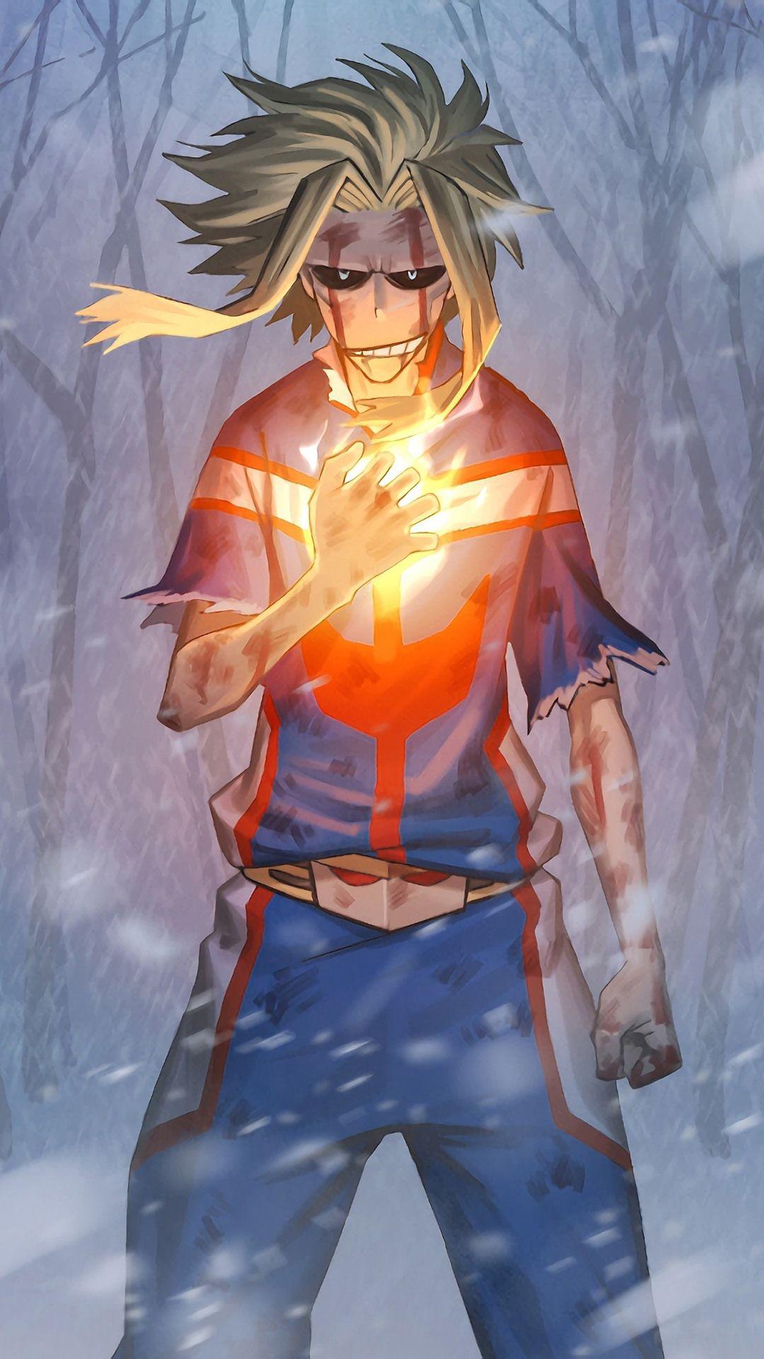 All Might Hero Wallpaper Anime My Hero