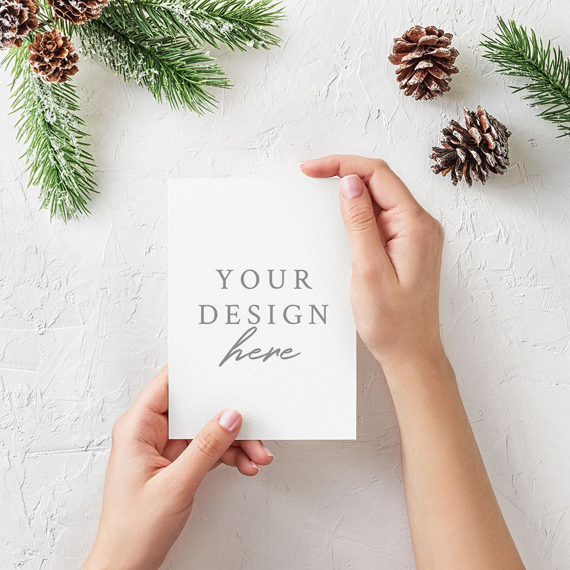 Free Christmas Greeting Card Mockup Pixelify Free Christmas Greeting Cards Christmas Card Images Christmas Cards