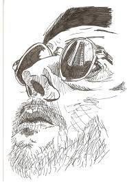 Znalezione obrazy dla zapytania jean reno drawing