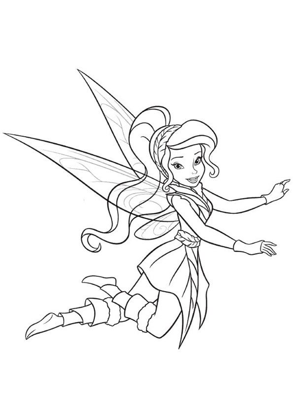 Print Coloring Image Momjunction Tinkerbell Coloring Pages Cute Coloring Pages Fairy Coloring Pages