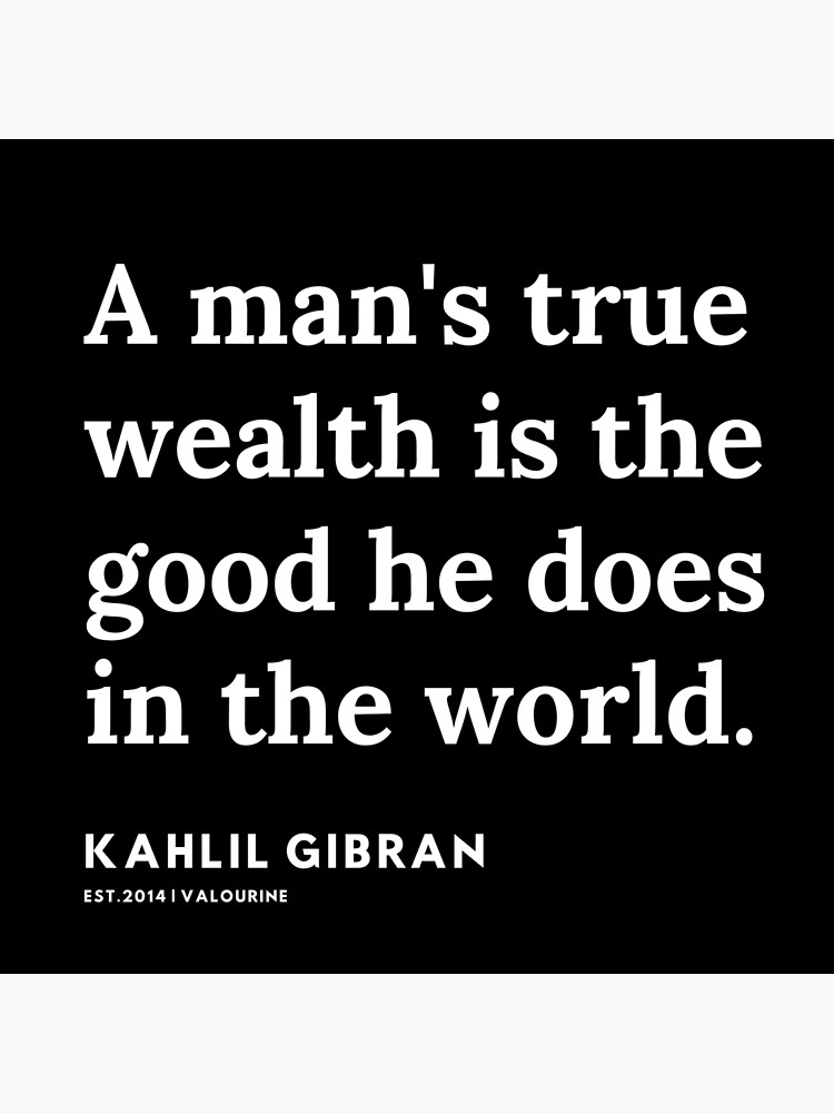 10 |  19119 | Kahlil Gibran Quotes  Poster by valourine