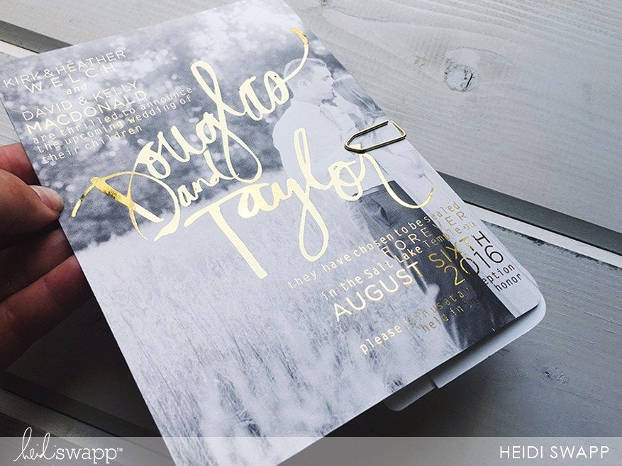 diy minc wedding invite how to minc wedding invitations heidi