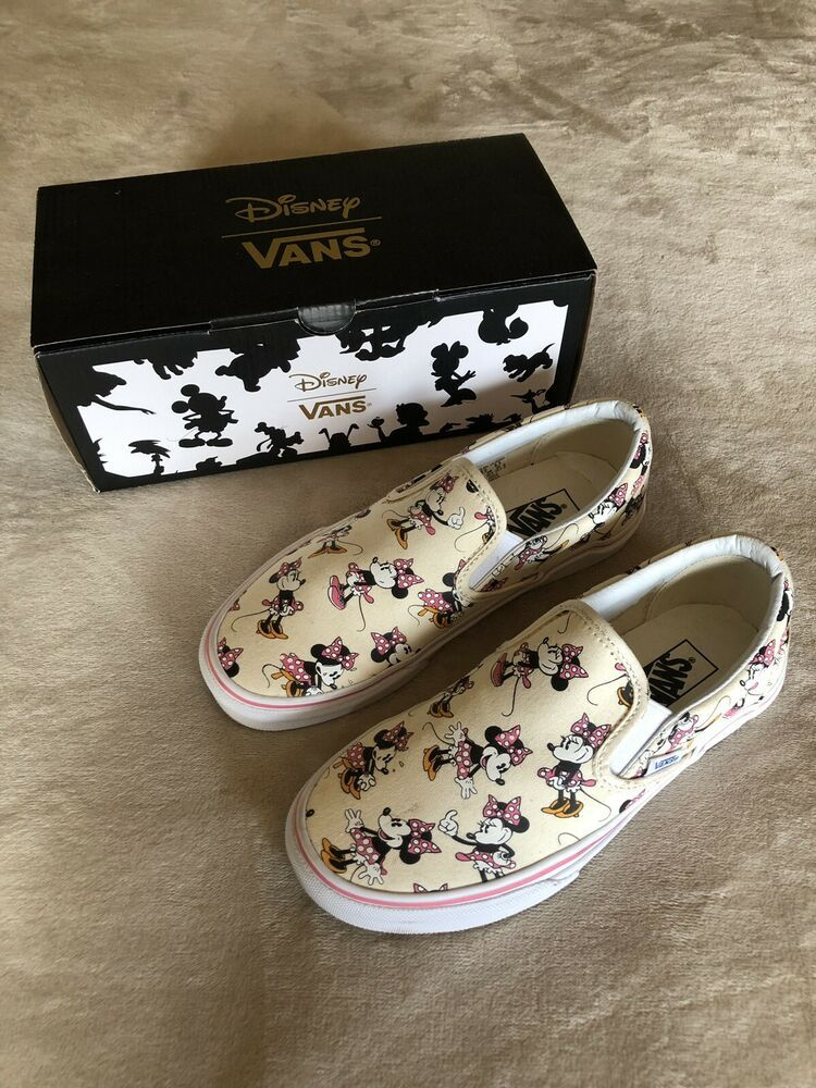 Limited Edition Vans Minnie Mouse 6.5